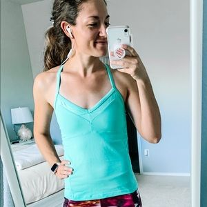 ALO Yoga Mint Tank Top Size Small
